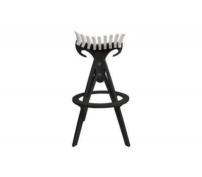 """Барный стул """"Bullstool Bar"""" Color Ribs (цветные ламели)"""