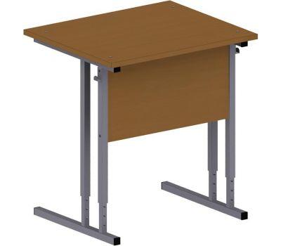 Стол ученический 1-мест.рег/выс.,кромка ПВХ 0,4 мм